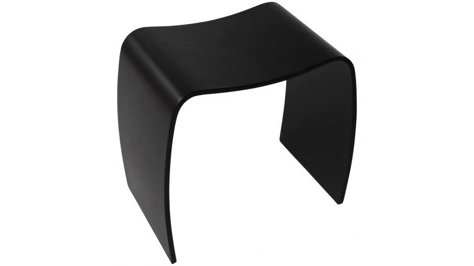 Jomo - Tabouret en bois noir
