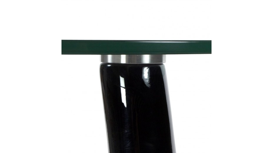 Blump - Bout de canapé pied laqué noir