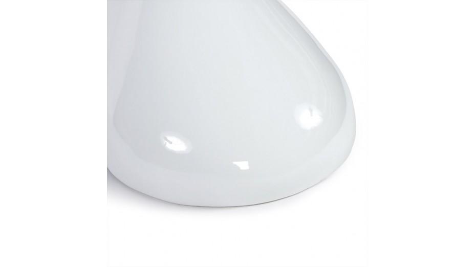 Blump - Bout de canapé pied laqué blanc