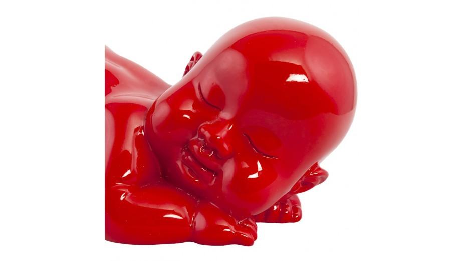 DODO - Statue bébé couché rouge