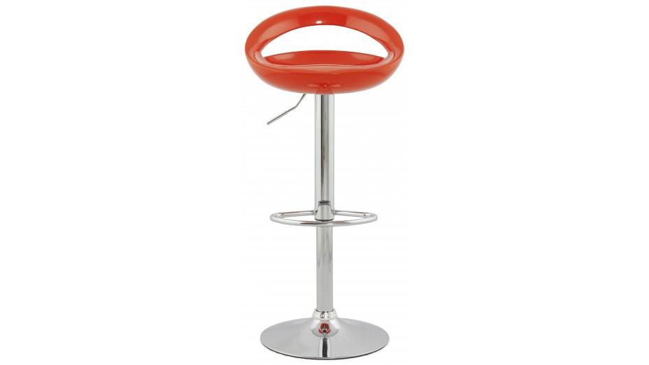 soft tabouret de bar design coque orange. Black Bedroom Furniture Sets. Home Design Ideas