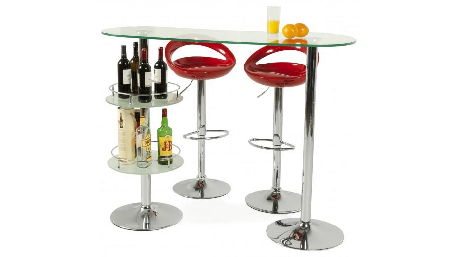 soft tabouret de bar design coque rouge. Black Bedroom Furniture Sets. Home Design Ideas
