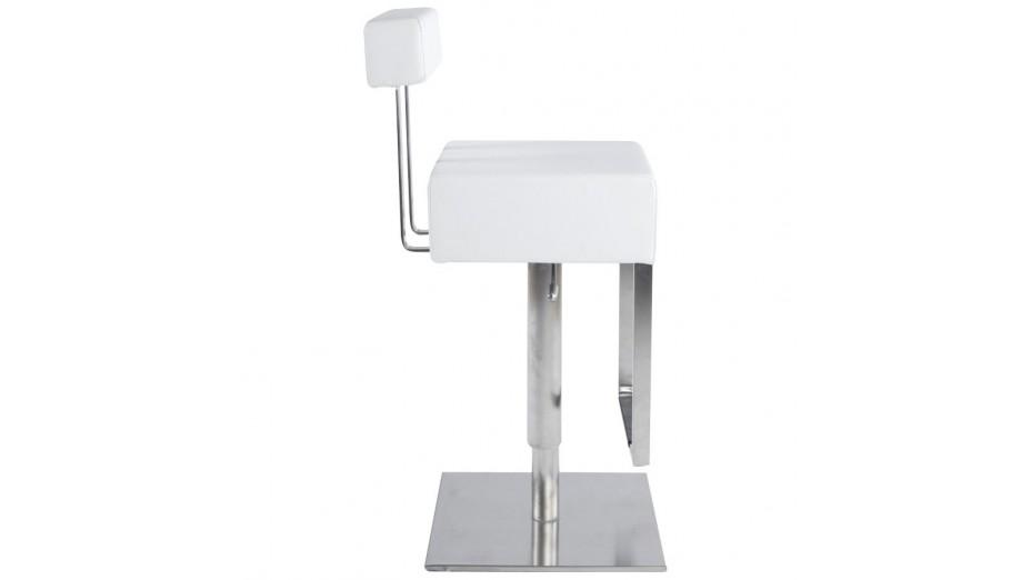 Kubo - Tabouret de bar design blanc