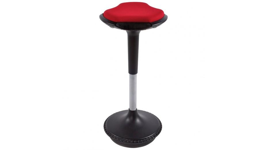 Ergo - Tabouret ergonomique rouge avec système de balancement