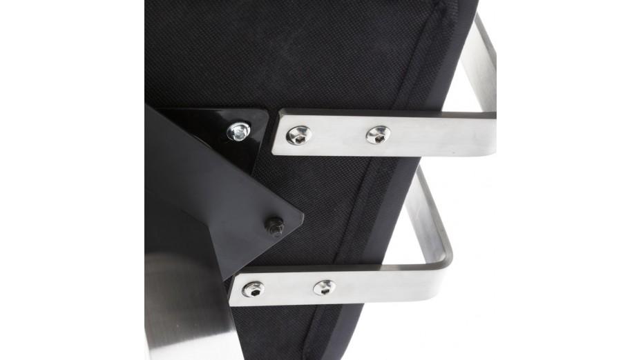 Kaiser - Tabouret Mi-hauteur similicuir noir