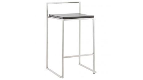 kaiser tabouret mi hauteur similicuir blanc. Black Bedroom Furniture Sets. Home Design Ideas