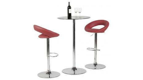 ergo tabouret ergonomique rouge avec syst me de balancement. Black Bedroom Furniture Sets. Home Design Ideas