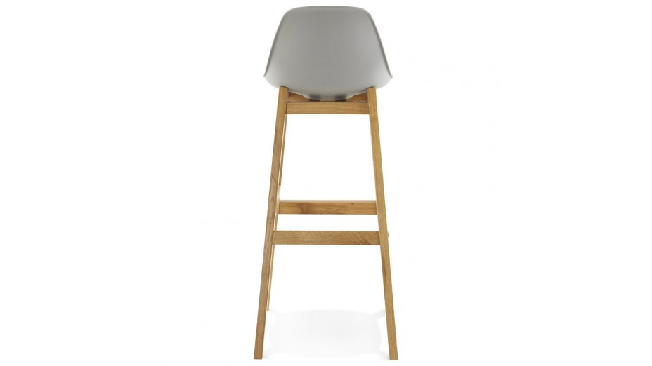 Ring Tabouret de bar pied bois naturel # Tabouret De Bar Design Bois