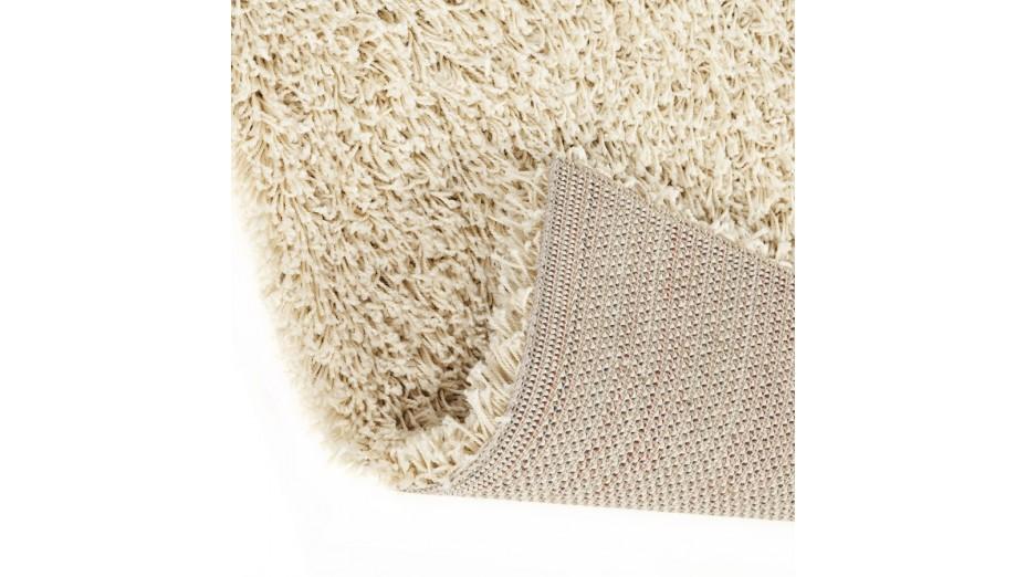 cobe pm tapis design 120 x 170 cm poils longs cr me. Black Bedroom Furniture Sets. Home Design Ideas