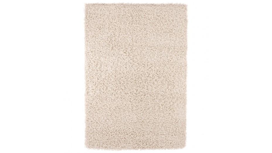 cobe tapis design 160 x 230 poils longs cr me. Black Bedroom Furniture Sets. Home Design Ideas