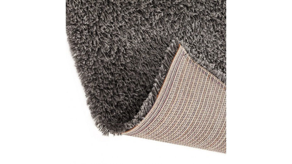cobe tapis design 160 x 230 poils longs gris. Black Bedroom Furniture Sets. Home Design Ideas