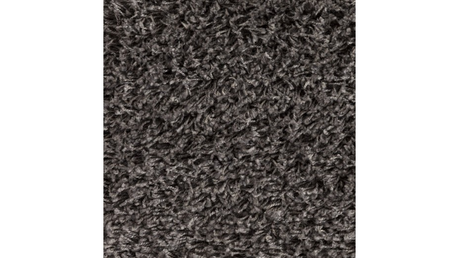 cobe rond tapis design rond 160 cm poils longs gris. Black Bedroom Furniture Sets. Home Design Ideas