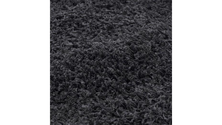 cobe gm tapis design 200 x 290 poils longs noir. Black Bedroom Furniture Sets. Home Design Ideas