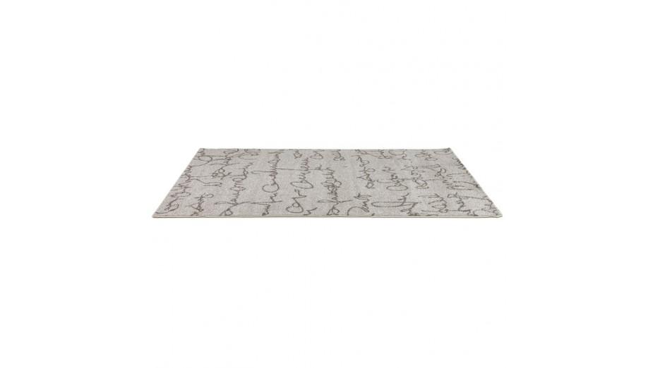 ecrit tapis design 230 x 160 cm poils courts. Black Bedroom Furniture Sets. Home Design Ideas
