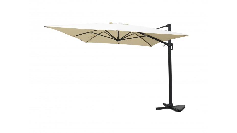 toile parasol 3x4 sable cynfa. Black Bedroom Furniture Sets. Home Design Ideas