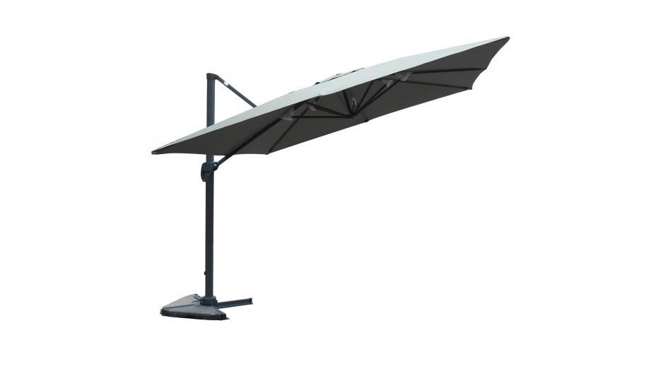 Toile taupe pour parasol 3 x 4