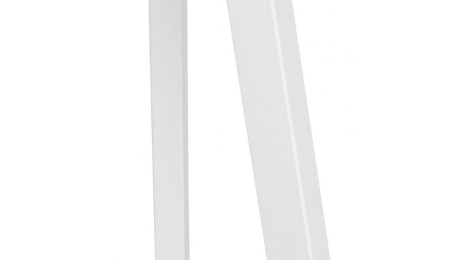 Modena - Lampadaire trépied blanc