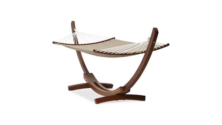 eden hamac support bois et toile d montable. Black Bedroom Furniture Sets. Home Design Ideas