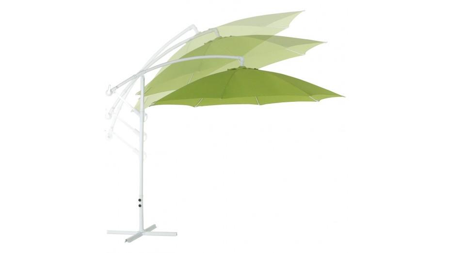 Strong - parasol déporté vert rond 3 m