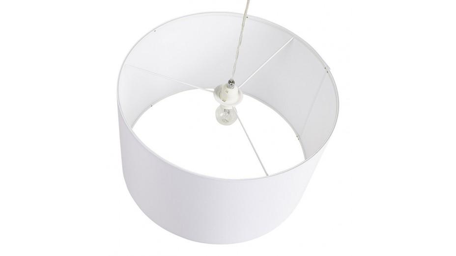 Tiana - Suspension abat-jour blanc