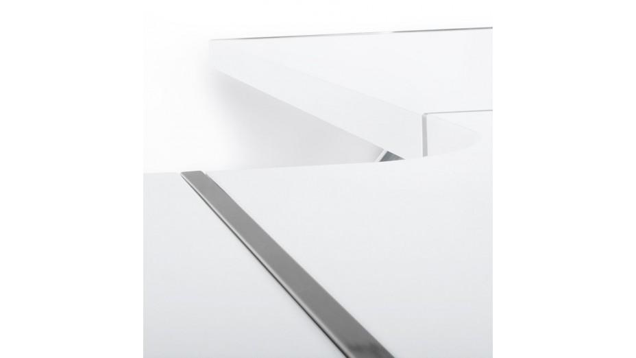 Neptune bureau d 39 angle design - Bureau d angle modulable ...