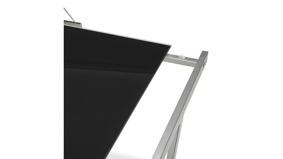 mercure bureau d 39 angle design plateau verre noir. Black Bedroom Furniture Sets. Home Design Ideas