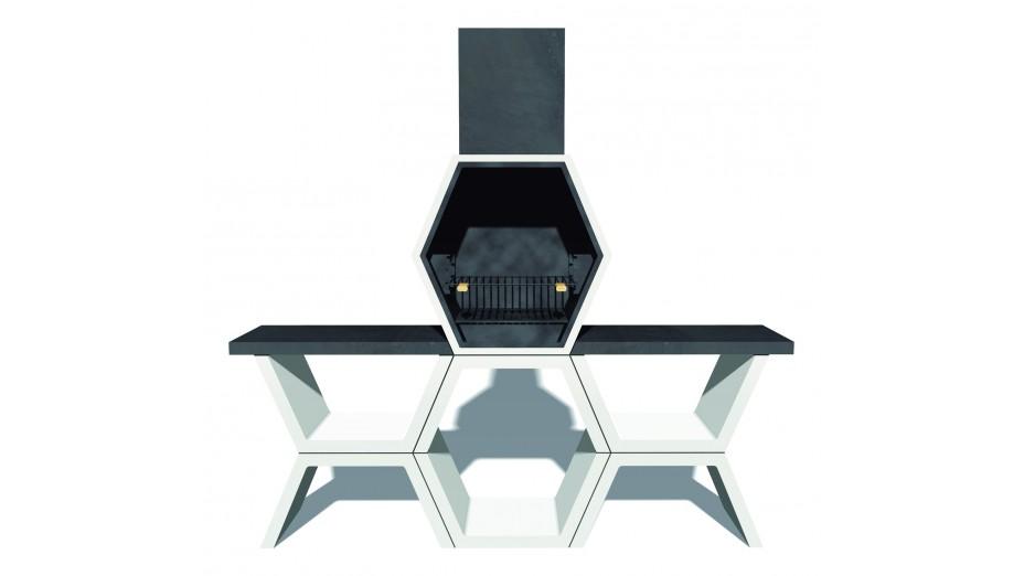 mod 05 barbecue design en b ton. Black Bedroom Furniture Sets. Home Design Ideas