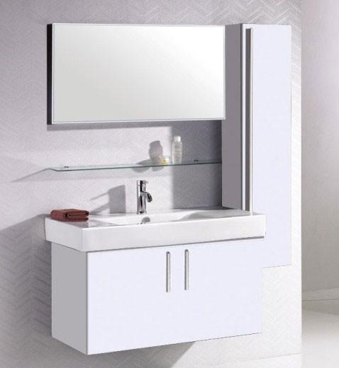 Colonne rangement salle de bain blanc laqu hauteur 130 cm for Colonne salle de bain lapeyre
