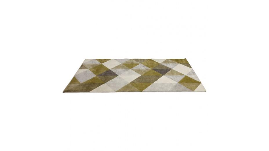 graph tapis design 230 x 160 cm vert. Black Bedroom Furniture Sets. Home Design Ideas