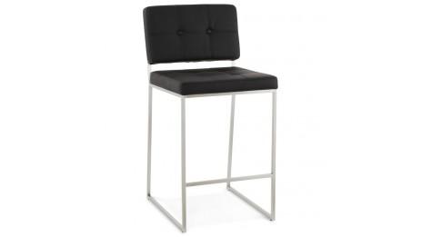 mona tabouret de bar design assise noir. Black Bedroom Furniture Sets. Home Design Ideas