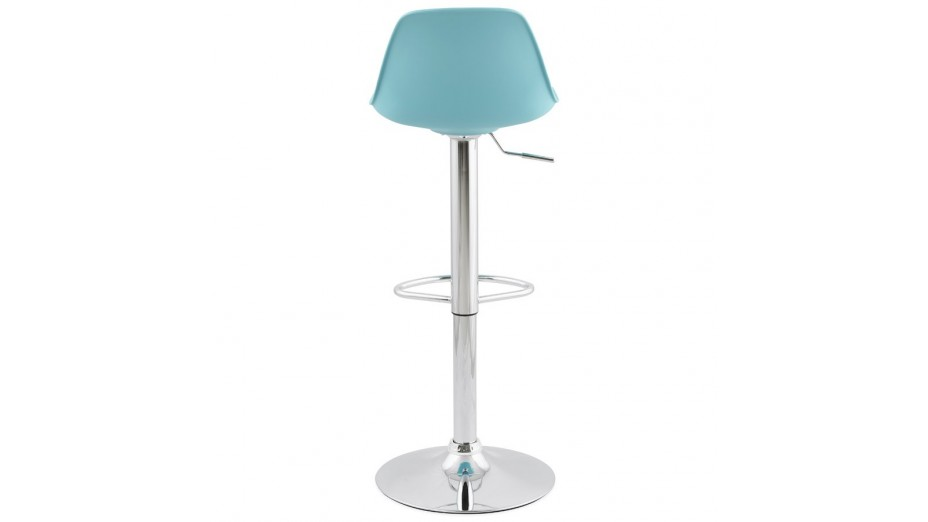 jelly tabouret de bar r glable assise bleu. Black Bedroom Furniture Sets. Home Design Ideas