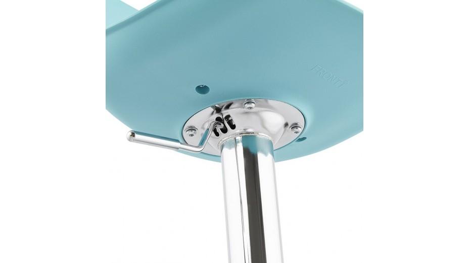 Jelly - tabouret de bar réglable assise bleu