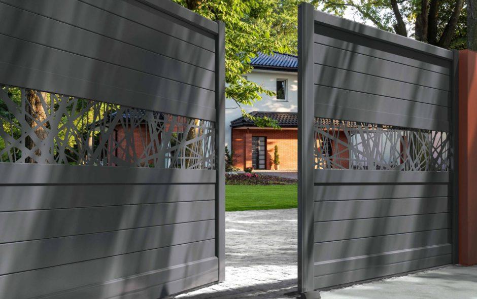 Donnez du cachet à votre maison grâce à un portail en aluminium