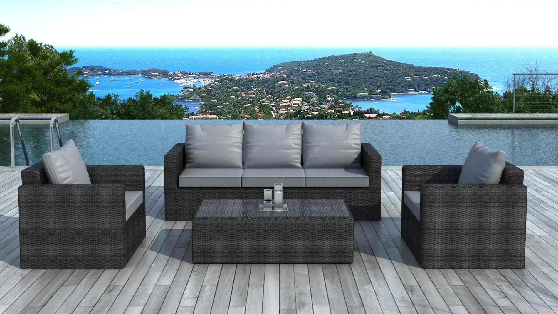 Quel type de canapé de jardin choisir ? • Blog Design Jardin ...