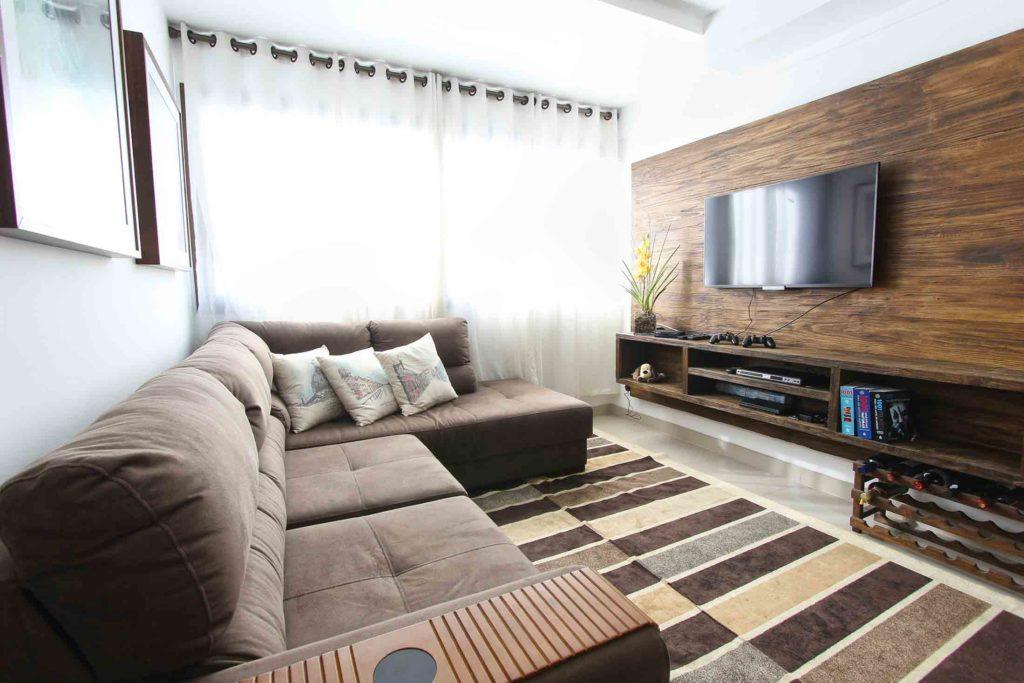 Comment Peindre Son Meuble Tv En Bois Brut Blog Design Jardin