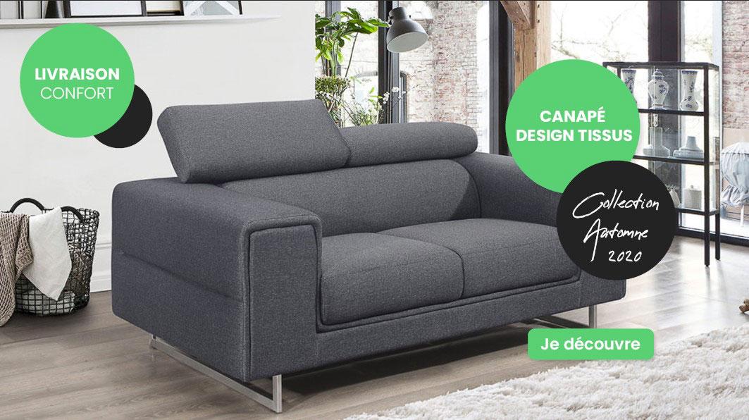 Canape Design - Collection Automne 2020